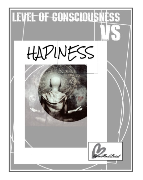Happiness vs consciousness