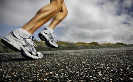 running feet mezuno