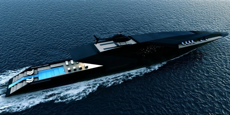 whatever massive yacht