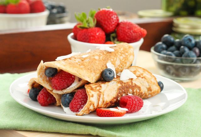 Coconut-Flour-Crepes-with-Yogurt-and-Berries-Eat-Spin-Run-Repeat